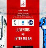Link Live Streaming Juventus vs Inter Milan di Liga Italia