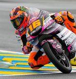 Hasil Kualifikasi Moto3 GP Prancis 2021: Perjudian Berhasil, Andrea Migno Sabet Pole Position