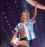 Pakai Kostum Nasional Bertema Diego Maradona, Wakil Argentina Jadi Sorotan di Miss Universe 2020