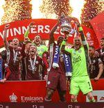 Menang 1-0 atas Chelsea, Leicester City Juara Piala FA 2020-2021