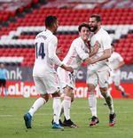 Hasil Athletic Bilbao vs Real Madrid: Nacho Jaga Peluang Meraih Gelar Liga Spanyol