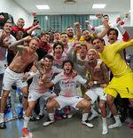 AC Milan Tembus Eropa, Theme Song Liga Champions Menggema di Ruang Ganti