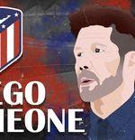 Jadi Pelatih Plus Marketer No 1 Dunia, Simeone Sukses Bikin Atletico Madrid Cuan Rp16,8 T