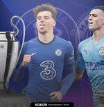 Jelang Man City vs Chelsea: Duel Phil Foden vs Mason Mount, Dua Youngster Asli Inggris
