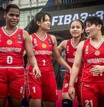 Gagal di Austria, Perbasi Ingin Timnas Basket Putri 3x3 Petik Pelajaran untuk SEA Games
