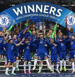 VIDEO: Ekspresi Cesar Azpilicueta Jadi Kapten Chelsea saat Juarai Liga Champions