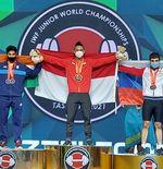 Komitmen Menpora untuk Rizki Juniansyah Usai Pecahkan 3 Rekor Dunia Junior Angkat Besi
