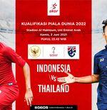 Link Live Streaming Thailand vs Indonesia di Kualifikasi Piala Dunia 2022