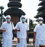 Ikuti Ritual Persembahyangan di Pulau Dewata, Teco Doakan Kesuksesan Bali United