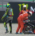 MotoGP Catalunya 2021, Balapan Terburuk dan Memalukan Bagi Valentino Rossi