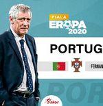VIDEO: Fernando Santos Bicara Taktik setelah Portugal Ditekuk Jerman 2-4