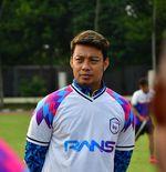 Kekalahan Telak Rans Cilegon FC dari Arema FC Membawa Berkah bagi Hamka Hamzah