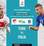 Link Live Streaming Turki vs Italia di Piala Eropa 2020