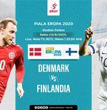 Link Live Streaming Denmark vs Finlandia di Piala Eropa 2020