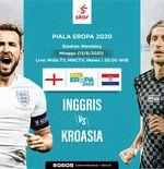 Piala Eropa 2020: Line-up Inggris vs Kroasia