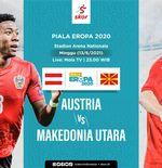 Link Live Streaming Austria vs Makedonia Utara di Piala Eropa 2020