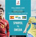 Prediksi Euro 2020 - Spanyol vs Swedia: Sama-sama Diganggu Covid-19