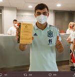 VIDEO: Momen ketika Pemain Spanyol Mendapatkan Vaksinasi