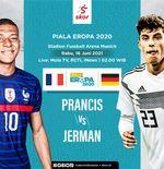 Link Live Streaming Prancis vs Jerman di Euro 2020
