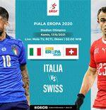 Link Live Streaming Italia vs Swiss di Euro 2020