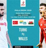 Link Live Streaming Turki vs Wales di Euro 2020