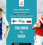 Link Live Streaming Finlandia vs Rusia di Euro 2020