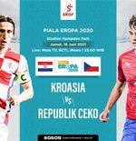 Prediksi Euro 2020 - Kroasia vs Republik Ceko: Vatreni Harus Lebih Tajam