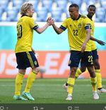 Hasil Swedia vs Slowakia di Piala Eropa 2020: Emil Forsberg Bawa Blagult Menang 1-0