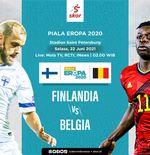 Link Live Streaming Finlandia vs Belgia di Euro 2020