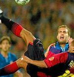 Video: 20 Tahun Lalu, Gol Dramatis Rivaldo Antar Barcelona ke Liga Champions