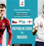 Link Live Streaming Republik Ceko vs Inggris di Euro 2020