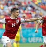 Hasil Ukraina vs Austria di Piala Eropa 2020: Menang 1-0, Das Team Catat Rekor