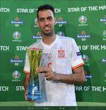 Man of the Match Piala Eropa 2020 - Slowakia vs Spanyol: Sergio Busquets