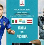 Link Live Streaming Italia vs Austria di Piala Eropa 2020