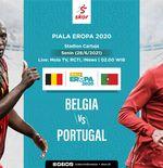 Link Live Streaming Belgia vs Portugal di Euro 2020