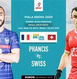 Link Live Streaming Prancis vs Swiss di Euro 2020
