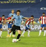 Hasil Uruguay vs Paraguay di Copa America 2021: Penalti Edinson Cavani Pastikan La Celeste Finis Runner-up
