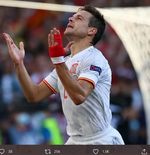 Video: Kata Cesar Azpilicueta Seusai Cetak Gol Pertama untuk Spanyol