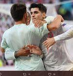 Ikuti Jejak Fernando Torres, Alvaro Morata Top Skor Bersama Spanyol di Euro
