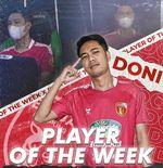 Pemain Badak Lampung FC Terpilih Sebagai Player of The Week IFeL Liga 2 2021 Pekan Keempat