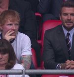 Ed Sheeran dan David Beckham Nobar Laga Inggris vs Jerman di Royal Box Wembley