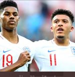 Usai Euro 2020, Jadon Sancho dan Marcus Rashford Liburan Bareng Naik Jet Pribadi