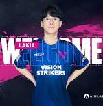 Mantan Pemain NUTURN Gaming, Lakia, Gabung Vision Strikers