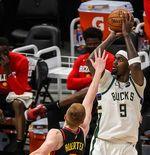 Hasil Final Wilayah Timur NBA 2021: Tanpa Giannis, Milwaukee Bucks Menangi Gim Ke-5