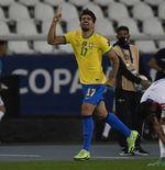 Hasil Brasil vs Cile di Copa America 2021: Main 10 Orang, Paqueta Bawa Selecao Menang dan ke Semifinal