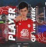 Pemain KS Tiga Naga Raih Player of the Week IFeL Liga 2 2021 Pekan Kelima