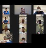 Patuhi PPKM, PBSI Melepas Atlet ke Olimpiade Tokyo secara Virtual