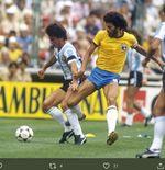 5 Duel Seru Brasil vs Argentina: Kartu Merah Maradona hingga Insiden Air Suci