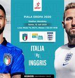 Prediksi Final Euro 2020 - Italia vs Inggris: Duel Dua Tim Terbaik di Eropa