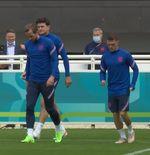 VIDEO: Sesi Latihan Terakhir Timnas Inggris Jelang Final Euro 2020 Lawan Italia
